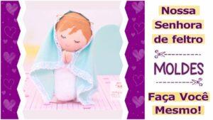 Read more about the article Molde de Nossa Senhora criativa para imprimir [DIY]