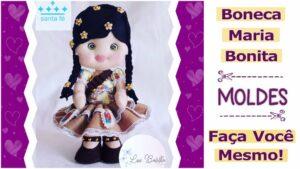 Read more about the article Molde de Maria Bonita em feltro [DIY]