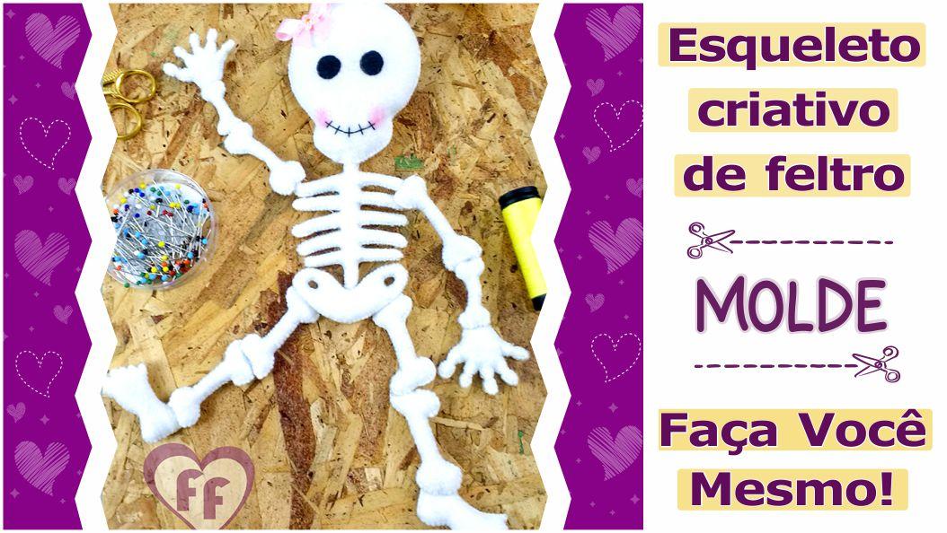 Read more about the article Molde de esqueleto criativo para salvar [DIY]