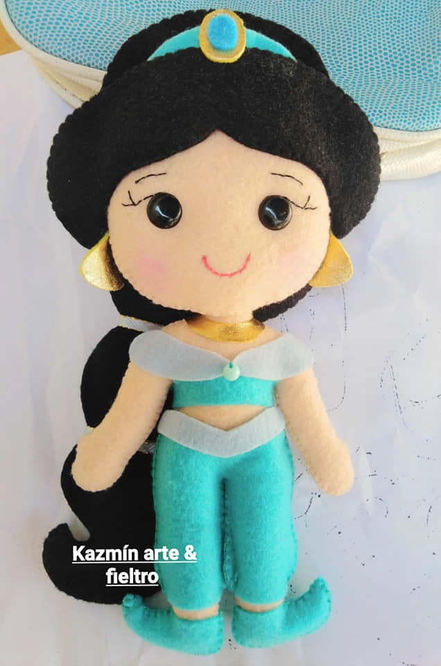 jasmine de feltro