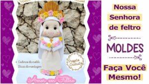 Read more about the article Molde de Nossa Senhora para imprimir e fazer [DIY]