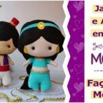 Princesa Jasmine e Aladdin em feltro [DIY]