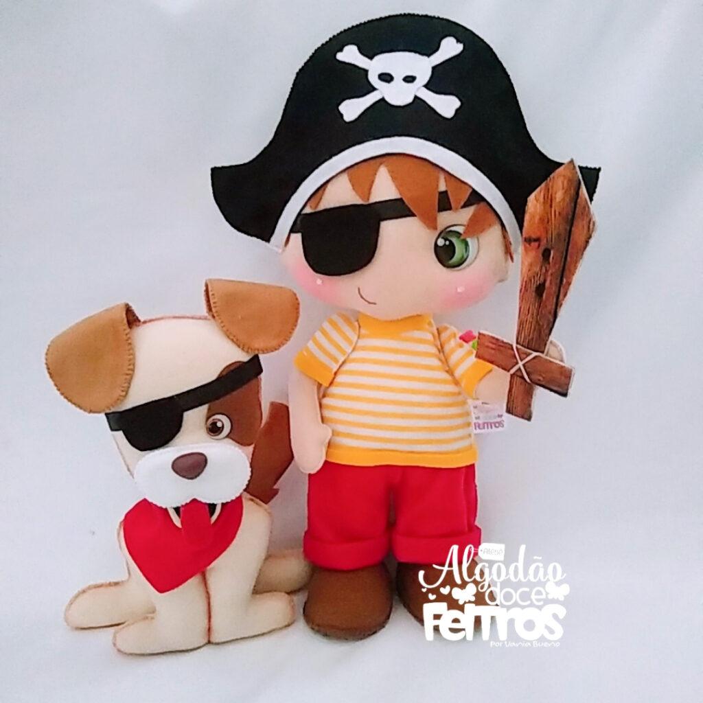 molde de pirata
