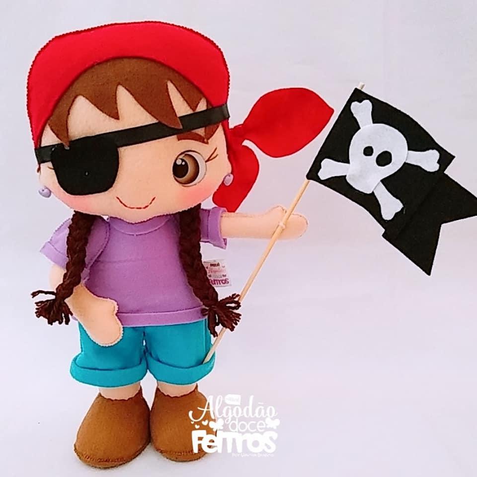 pirata de feltro