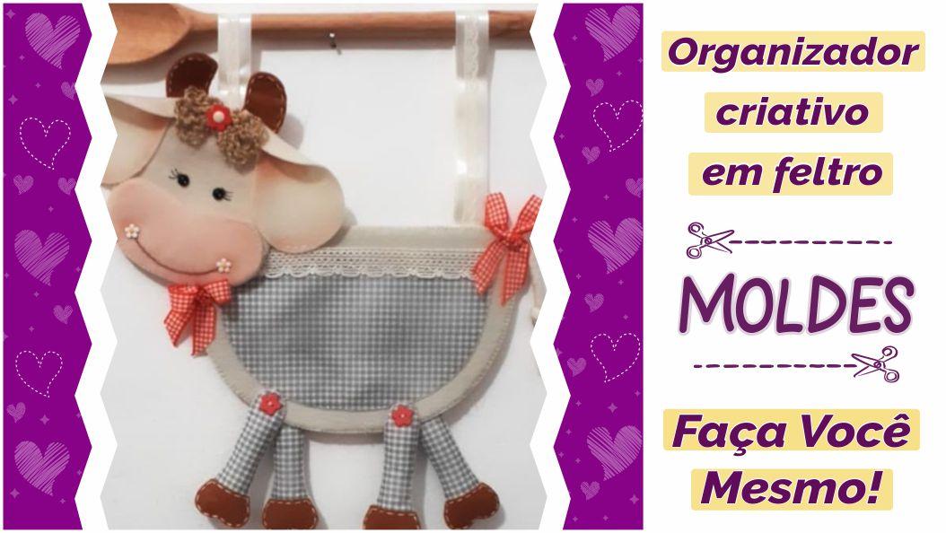 Read more about the article Molde de porta objetos fofo e criativo!