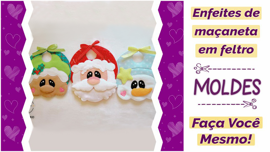 Read more about the article Moldes de Natal para Decoração de Porta [DIY]